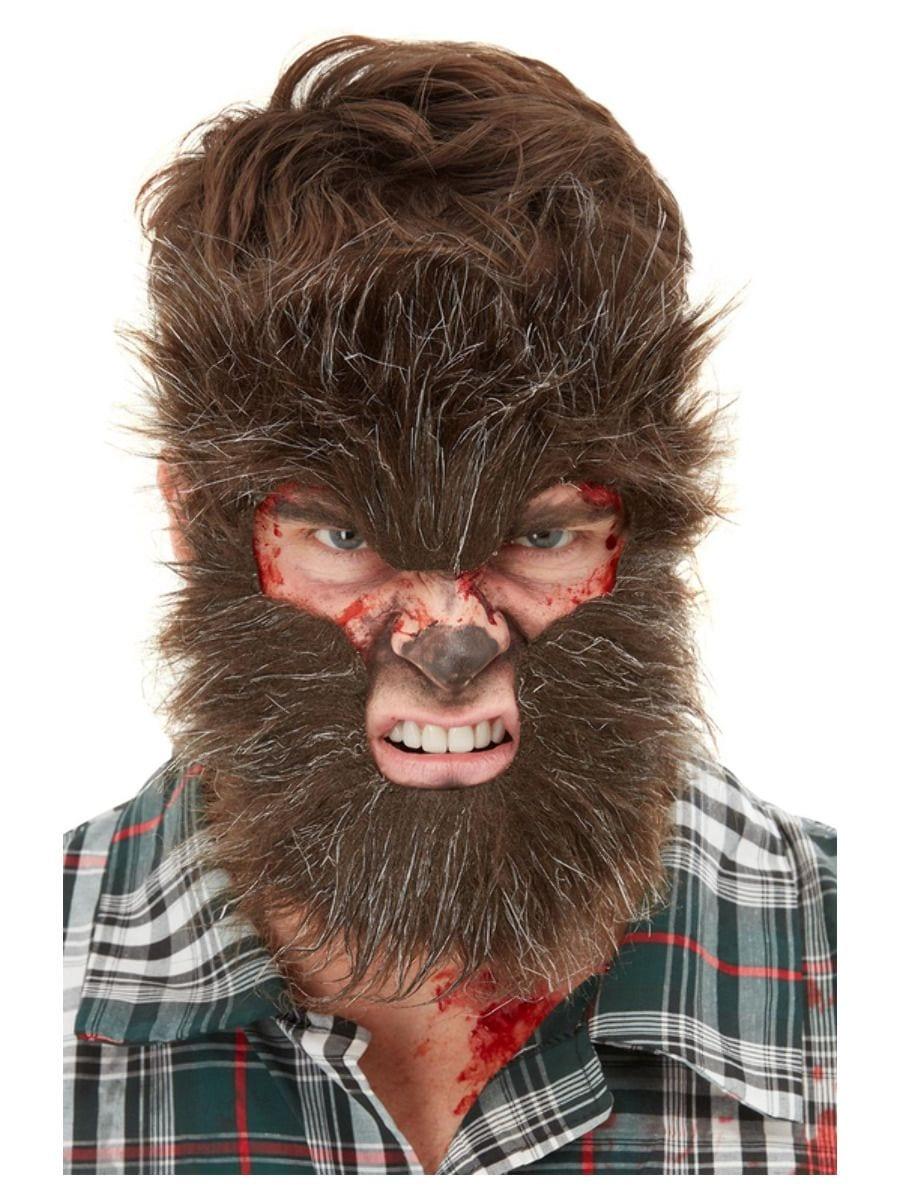 Smiffys Make-Up FX, Werewolf Face Fur