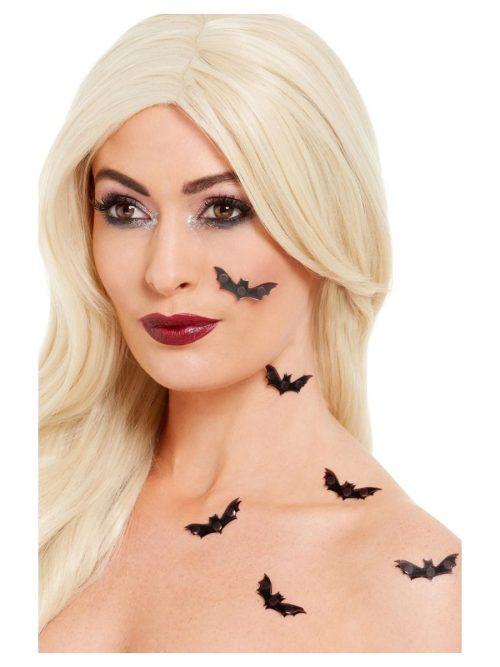 Smiffys Make-Up FX, 3D Bat Stickers