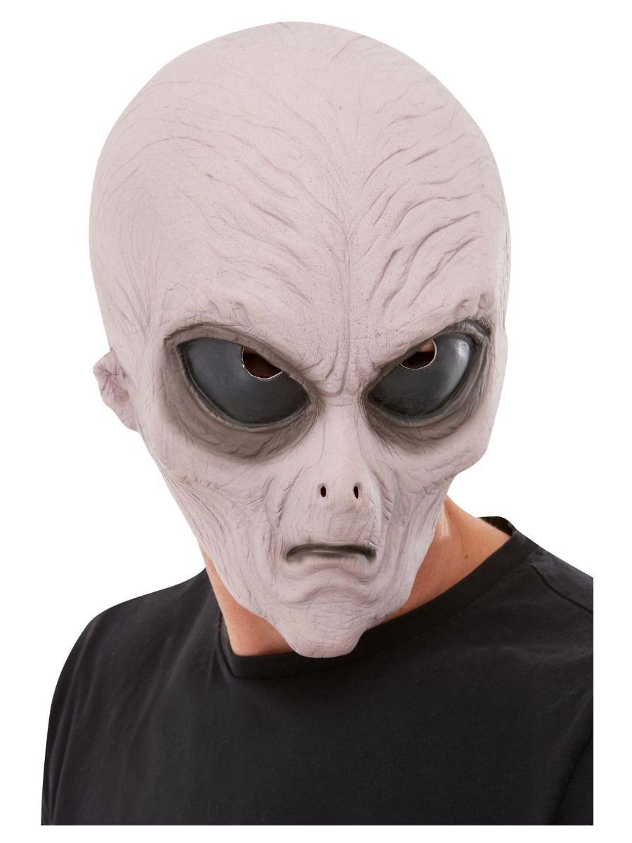 Alien Latex Mask, Purple-0