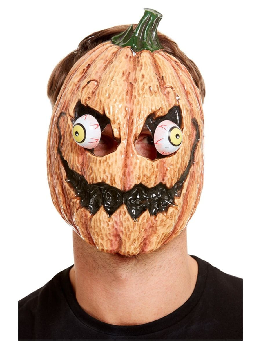 Pumpkin Mask, Orange-0