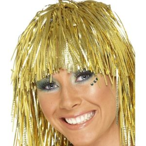 Cyber Tinsel Wigs