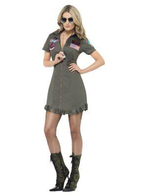 Ladies' Top Gun Costume