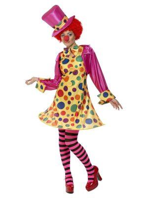 Ladies Circus & Clown Costumes